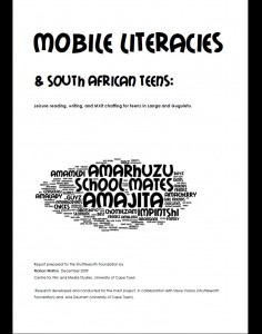 Mobile literacies report
